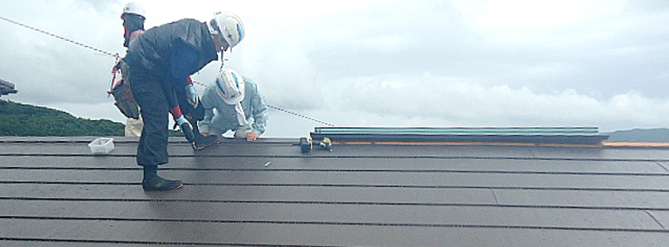 屋根工事画像2