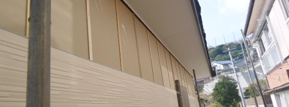 外壁工事画像
